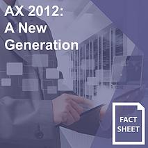 AX 2012 A New Generation