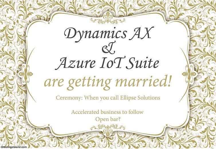 Dynamics AX Azure IoT Suite