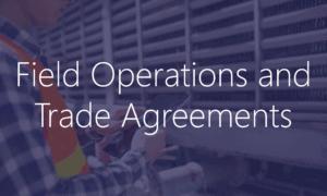 Field Service Trade Agreements Dynamics 365
